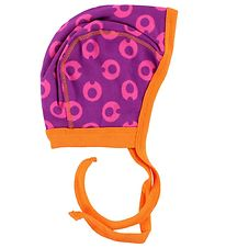 Freds World Baby Hat - Purple w. Bubbles