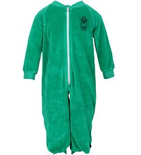 Danefæ Velvet Jumpsuit - Green w. Viking