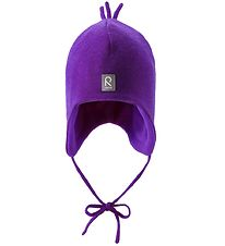 Reima Hat - Knitted - Wool/Polyester - Purple