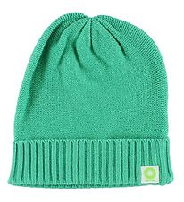 Katvig Hat - Knitted - Wool/Cotton - Green