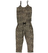 MarMar Jumpsuit - Brown Leopard Print