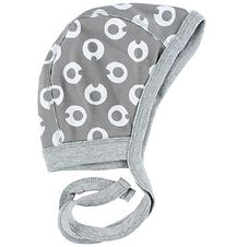 Freds World Baby Hat - Light Grey w. My I