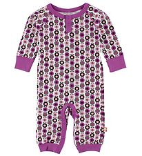 Katvig Classic Jumpsuit - Purple/Pink Apples