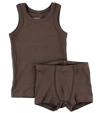 Katvig One Underwear Set - Brown