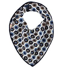 Katvig Classic Teething Bib - Blue/Navy/Brown Apples