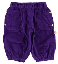 Katvig Corduroy Trousers - Purple