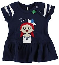 Freds World Dress - Navy w. Sailor Girl