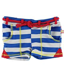 Katvig Classic Swim Pants - UV50+ - Blue/White Striped
