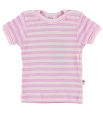 Joha T-shirt - Pink Striped