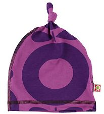 Katvig Beanie - Fuchsia/Purple Apples