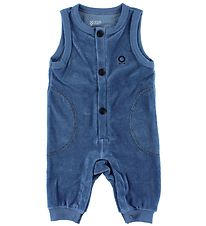 Katvig Romper - Velvet - Light Blue