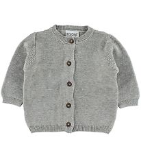 Fixoni Cardigan - Knitted - Grey