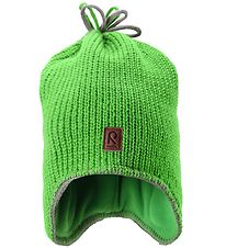 Reima Hat - Knitted - Wool/Polyester - Apple Green