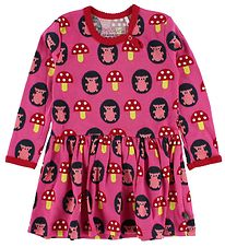 Freds World Dress - Pink w. Hedgehog