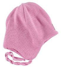 Reima Hat - Knitted - Ahava - Wool/Cotton - Pink