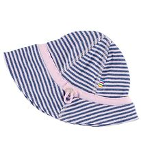 Joha Sun Hat - Blue/Pink Striped
