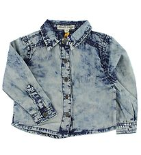 Small Rags Shirt - Denim Look