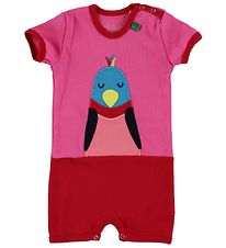 Freds World Summer Romper - Pink w. Bird