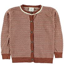 En Fant Cardigan - Knitted - Burnt Red