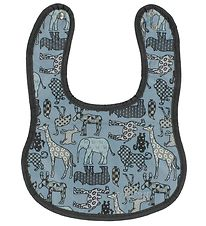 Smallstuff Bib - Denim w. Small Animals