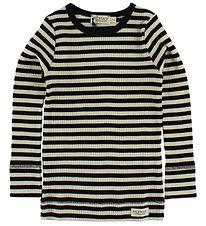 MarMar Blouse - Ivory/Black Striped