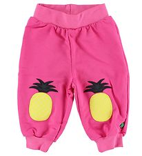 Freds World Cotton Trousers - Pink w. Pineapple