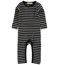 MarMar Jumpsuit - Black/Grey Striped