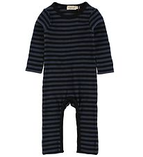 MarMar Jumpsuit - Navy/Black Striped