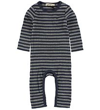 MarMar Jumpsuit - Grey/Navy Striped