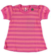 Freds World Dress - Pink/Coral Striped