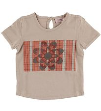 Noa Noa Miniature T-shirt - Vintage Rose w. Flower