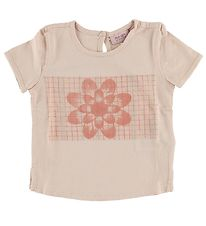 Noa Noa Miniature T-shirt - Light Rose w. Flower