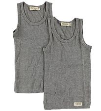 MarMar Undershirt - 2-Pack - Grey Melange