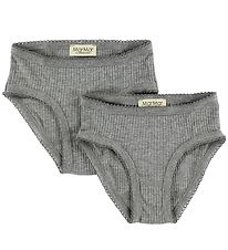 MarMar Knickers - 2-Pack - Grey Melange