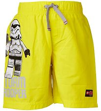 Lego Star Wars Shorts - Yellow w. Storm Trooper