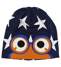Freds World Beanie - Navy w. Blue/Stars