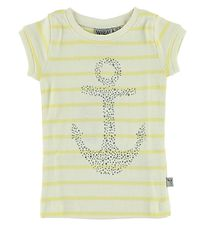 Wheat T-shirt - Ivory/Yellow w. Anchor