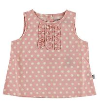 Wheat Top - Pink w. Dots