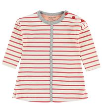 Fixoni Dress - White/Red Striped