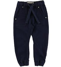 Minymo Trousers - Twill Loose - Navy