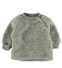 Engel Blouse - Wool - Grey Melange