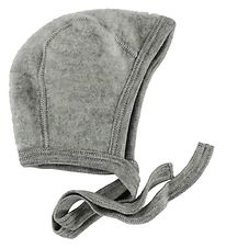 Engel Baby Hat - Wool - Grey Melange
