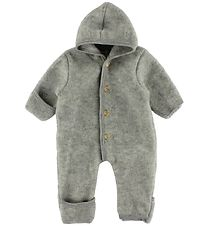 Engel Pramsuit - Wool - Grey Melange