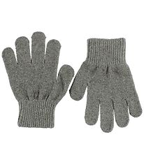 Mikk-Line Gloves - Grey Melange
