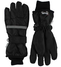 Mikk-Line Gloves - Black/Reflection