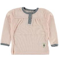 Small Rags Blouse - Wool - Pink