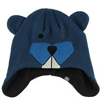 Color Kids Hat - Knitted - Reaver - Navy Beaver