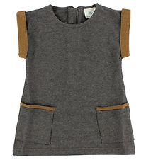 En Fant Dress - Grey Melange
