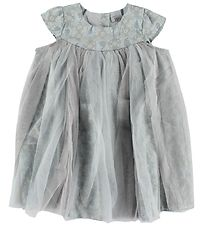 Wheat Disney Dress - Light Blue/Silver Tulle w. Frostprint