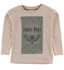 Small Rags Sweatshirt - Rose w. Print